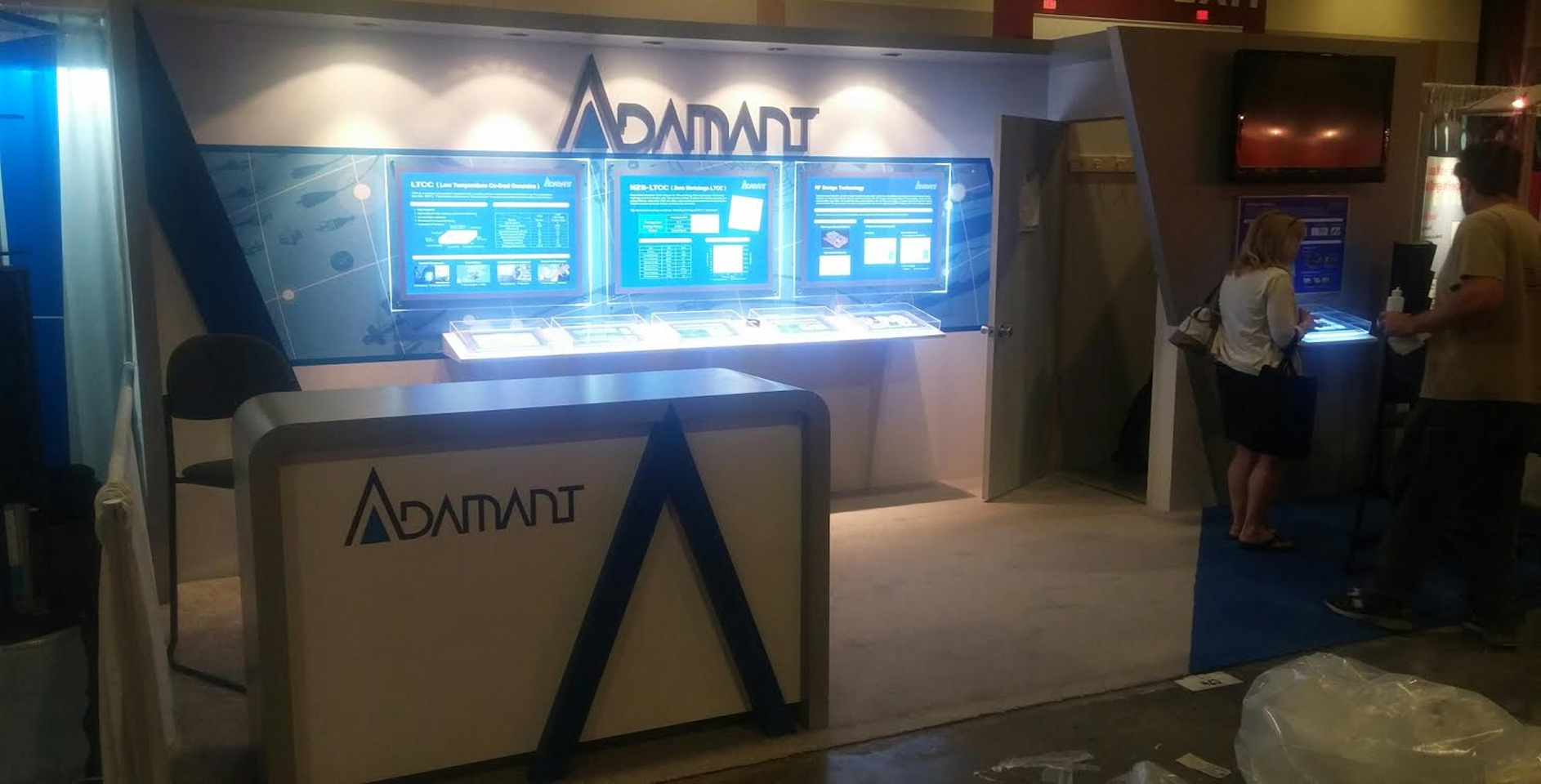 adamant booth